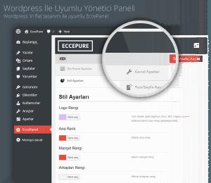 EccePure, flat tasarım ile uyumlu EccePanel