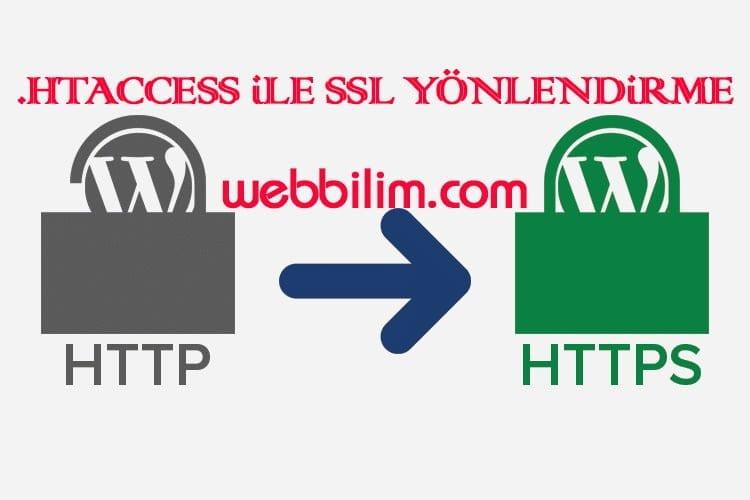 htaccess ile HTTPS Yönlendirmesi Nasıl Yapılır?