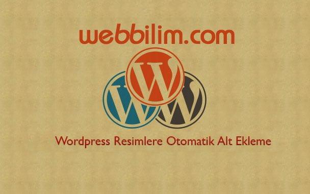 WordPress'de Resimlere Otomatik Alt Etiketi Ekleme