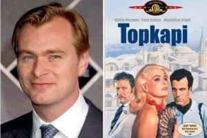"""Chistopher Nolan'ın en sevdiği 10 film arasında 1964 yapımı konusu Türkiye'de geçen """"Topkapi"""" de vardır."""