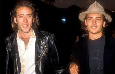 Johnny Depp'i sinema dünyasına kazandıran isim ünlü aktör Nicholas Cage'dir.