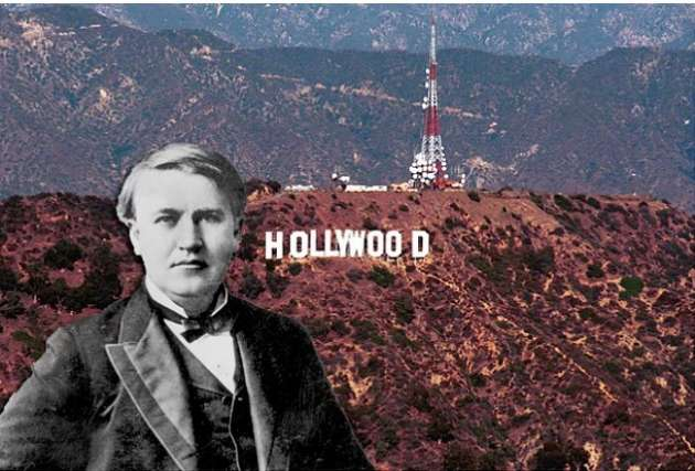 Thomas Edison'un elinde bulundurduğu birçok sinema patent hakkının ihlali ve avukatların takibinden kaçmak için gerektiğinde kaçabilecekleri Meksika sınırındaki bölgeye yerleşip film çekimlerinin burada yoğunlaşarak şimdiki devasa Holywood endüstrisini oluşturmuş