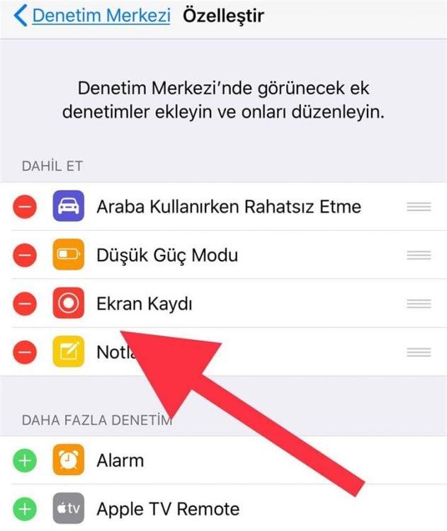 Iphone Ekran Video Kaydı Nasıl Yapılır