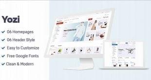 Yozi WooCommerce WordPress Tema