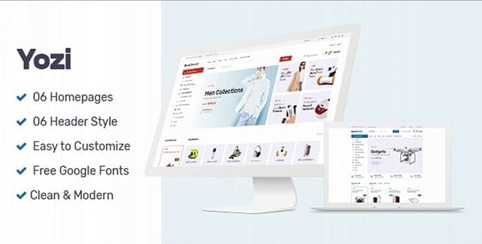 Yozi WooCommerce WordPress Tema