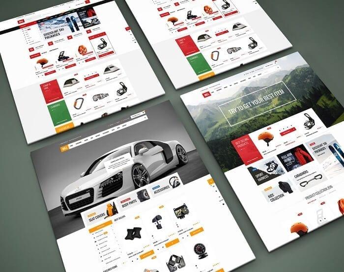 Hill Premium WordPress E-Ticaret Teması