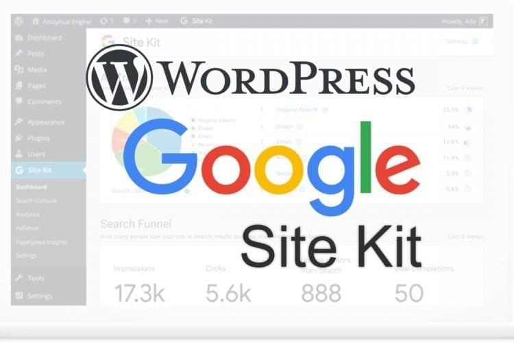 Google'dan WordPress için yeni eklenti - Site Kit