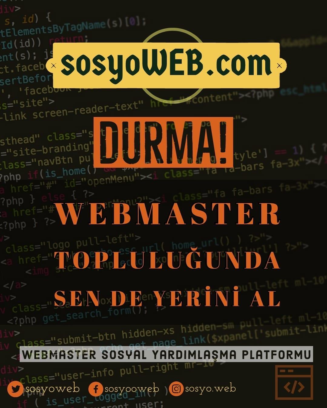 Webmaster Destek