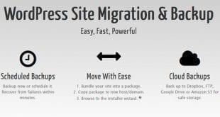 WordPress Site Taşıma ve Yedekleme Eklentisi