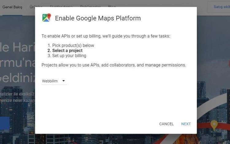 google haritalar hata çözümü