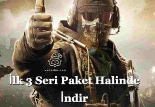 Call Of Duty İlk 3 Oyunu Paket Halinde Kurulum!