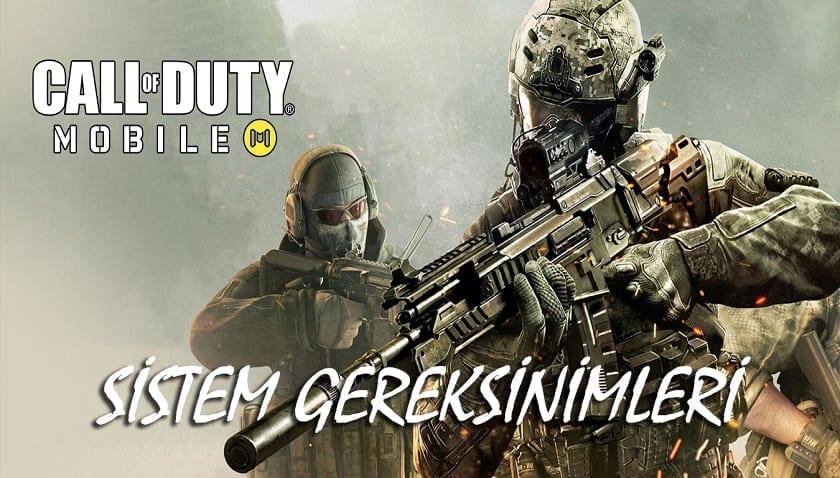 Call Of Duty Mobile Sistem Gereksinimleri PC