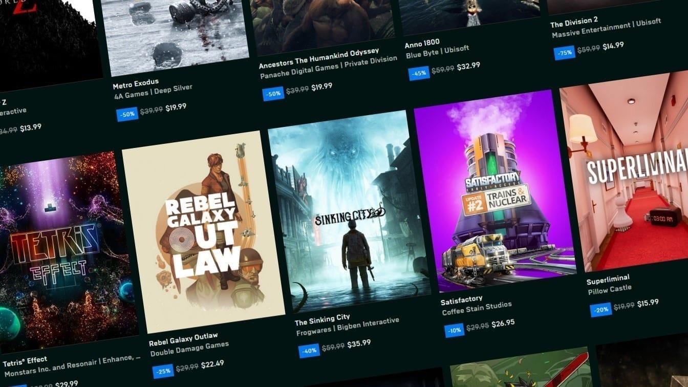 Epic Games Ücretsiz Oyunlar Neler