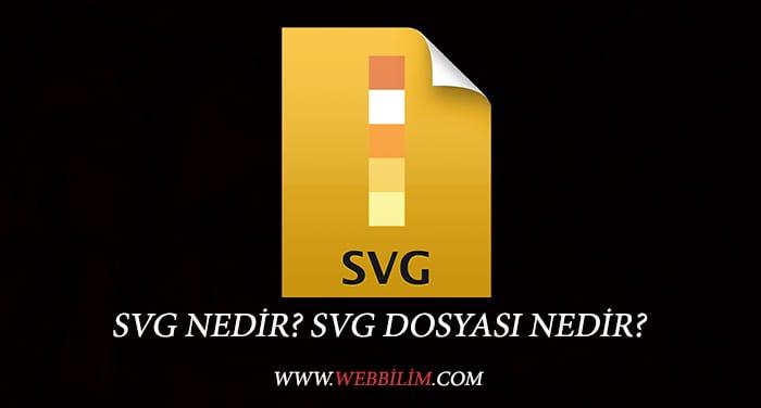 SVG Dosyası Nedir?