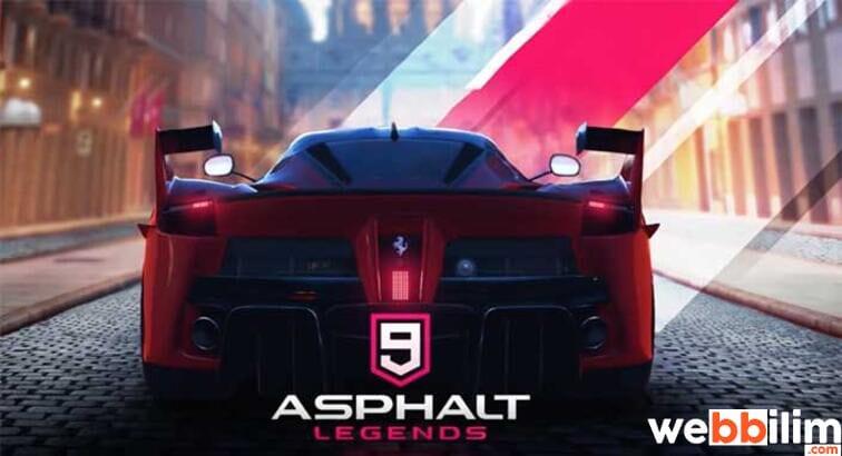Asphalt 9 Mobil Oyun